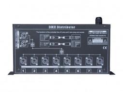 DMX distributor 8 PRO, 1 ulaz, 8 izlaza, nezavisni driver, data display – X-Light