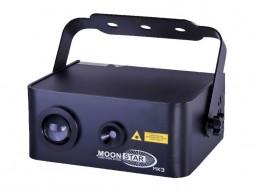 Laser MOONSTAR MK3, LED, 100 mW, crvena 50 mW, zelena 5 W, 160° zraka, DMX – CR