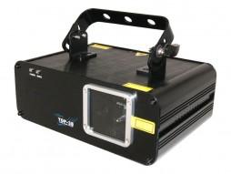 Laser scanlas RGY, 100 mW crvena, 140 mW žuta, 40 mW zelena, DMX – CR