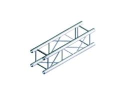 Alu konstrukcija PQ30-400, kvadratna, ravna, 4 m + spajalice – Milos