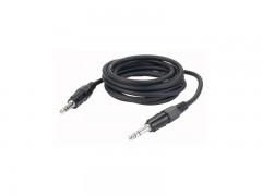 Kabel, gotovi, stereo banana 6,3 mm/stereo banana 6,3 mm, 3 m – DAP