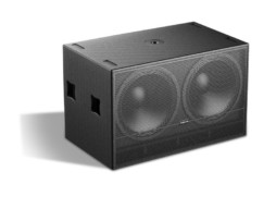 Zvučna kutija double, 18″, 1600W RMS, pasivna, subwoofer – Audiocenter