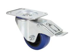 Kotač 80 mm, plavi za rack s kočnicom – Adam Hall