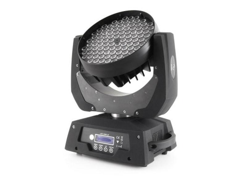 Moving head,  108x3W, RGB+W, DMX 12 kanala – IDEAL