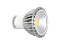 LED žarulja, GU10, 3 W/220 V, 250 lm, COB, topla bijela 2700 K