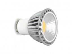 LED žarulja, GU10, 5 W/220 V, 300 lm, COB, topla bijela 3000 K, dimabilna
