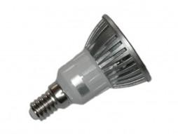 LED žarulja E14, 3W/220V 250lm, topla bijela 3000K, reflektorica
