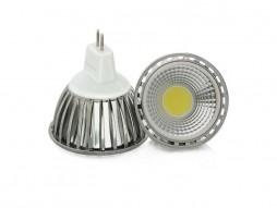 LED žarulja, MR16, 3 W/12 V, 250 lm, COB, topla bijela 3000 K