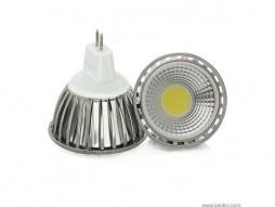 LED žarulja, MR16, 3 W/12 V, 250 lm, COB, hladna bijela 6000 K