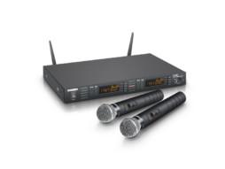 Mikrofonski set WS1G8, bežični, dinamički, 2 ručna mikrofona, 1785-1800 MHz – LD Systems