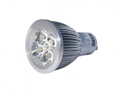 LED žarulja, GU10, 5×1 W, topla bijela, dimabilna – Bridgelux