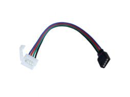 Spajalica za LED traku RGB5050, 10mm, 4 pina