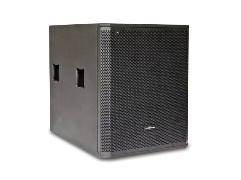 Zvučna kutija single 18″ 1200W RMS, aktivna, DSP, subwoofer – Audiocenter