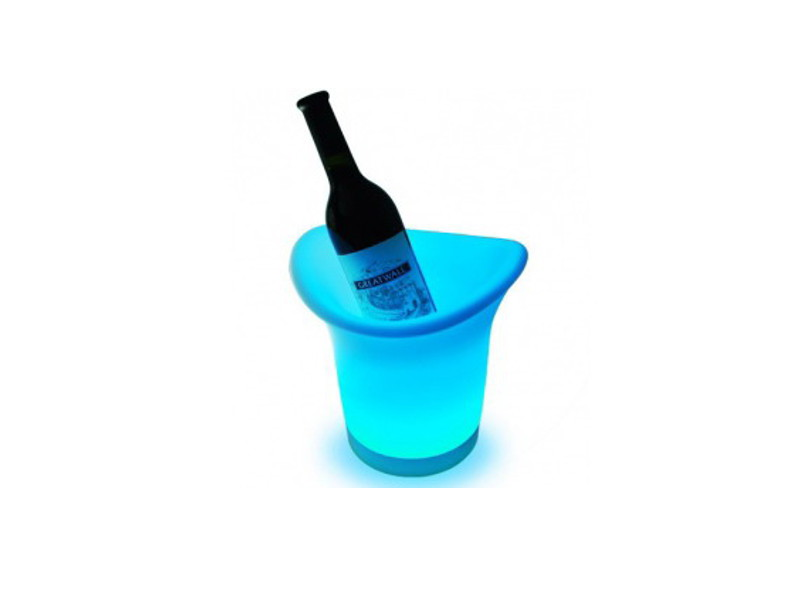 LED posuda za piće (kibla), LED RGB, s daljinskim, 25x25x29 cm