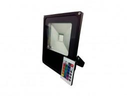 LED radni reflektor 30W RGB s daljinskim kontrolerom – IP65 vodootporno – Optonica