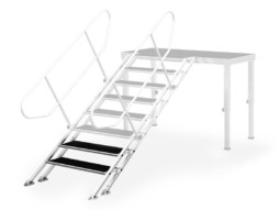 Stepenice za pozornicu, podesive od 60-100 cm, širina 75 cm, 4 stepenice – Alustage