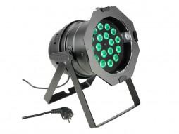 LED reflektor PAR 64 QUAD, 8W RGBW, crni, B-ware