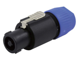 Konektor, za kabel, speakon, NL-4FC, 4-polni – Neutrik