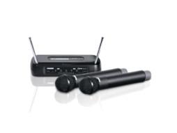 Mikrofonski set ECO2 FACH, bežični, 2 ručna mikrofona, 863.100 / 864.500 MHz – LD Systems