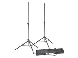 Stalak za zvučnike, set 2 stalka i torba – Adam Hall
