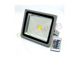 LED radni reflektor 10W RGB s daljinskim kontrolerom – IP65 vodootporno – Optonica