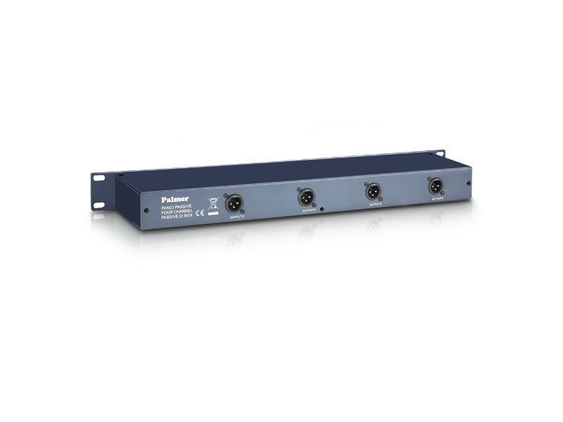 DI Box PAN03PASS 19″ pasivni, 4 kanala – Palmer