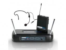 Mikrofonski set ECO2 BPH1, bežični, naglavni, sa beltpackom, 863.100 MHz – LD Systems