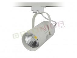 LED unutarnja track lampa  25W COB bijelo kućište, prirodno bijela – Optonica