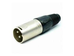 Konektor, za kabel, XLR, 3 pina, muški