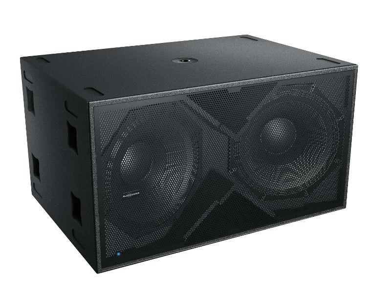 Zvučna kutija, dual, 18″, 2800 W RMS, aktivna, DSP, subwoofer – Audiocenter