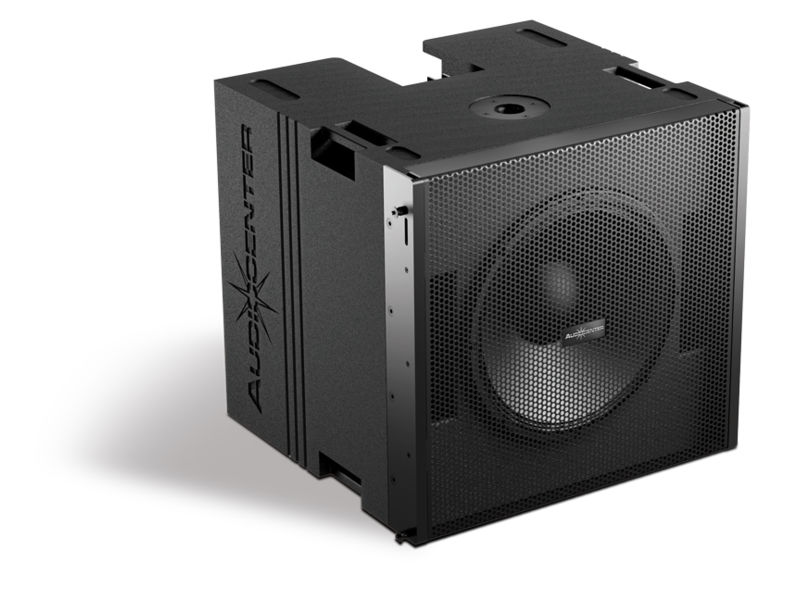 Zvučna kutija single 10″, 1200W RMS, aktivna, subwoofer – Audiocenter