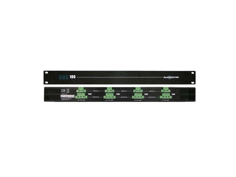 Konverter, 70V/100V 4x160W – Audiocenter COS100