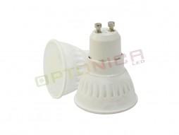 LED žarulja GU10 6W SMD 220V CERAMIC hladno bijela – Optonica