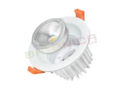 2LED downlighter 5W  okrugli, zamjenjiv, hladno bijela – Optonica