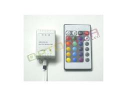Daljinski kontroler za LED traku RGB – 16 BUTTONS 72W 12V 6A – Optonica
