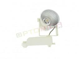 LED unutarnja track lampa  12W COB bijelo kućište, prirodno bijela – Optonica