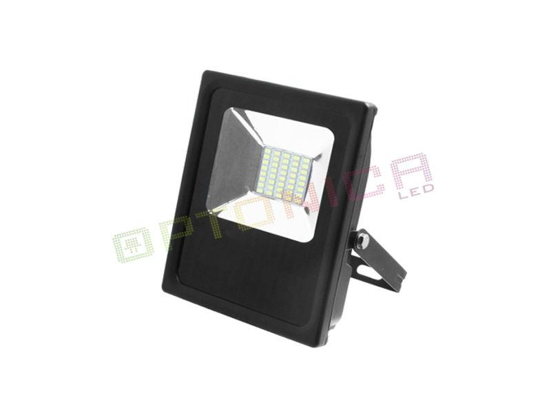 LED SMD radni reflektor 20W AC95V-AC265V 80lm/W 150° 2700K topla bijela – IP65 vodootporno – Optonica