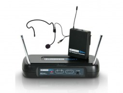 Mikrofonski set ECO2 BPH3, bežični, naglavni, sa beltpackom, 864.500 MHz – LD Systems