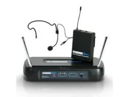 Mikrofonski set ECO2 BPH4, bežični, naglavni, sa beltpackom, 864.900 MHz – LD Systems
