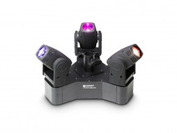 LED Bar moving head, s 3 ultrabrze glave, 3x10W, CREE RGBW – Cameo