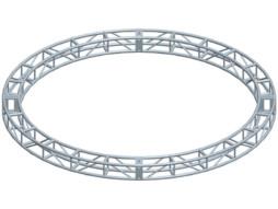 Alu konstrukcija krug, diametar 2m, 4 komponente + spajalice – Milos