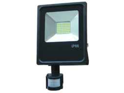 LED SMD radni reflektor 50W AC95V-AC265V 80lm/W 150° 4500K prirodna bijela – IP66 vodootporno sa senzorom – Optonica
