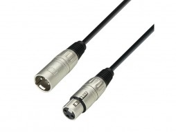 Adam Hall Gotovi kabel mikrofonski, XLR Ž / XLR M, 0,5m