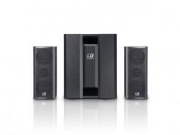 PA sistem, prenosivi, aktivni s 3 kanalanim mikserom – LD systems
