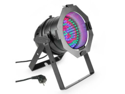 Cameo LED reflektor PAR 56, 108x10mm LED RGB, crni