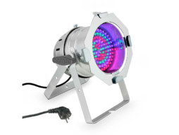 Cameo LED reflektor PAR 56, 108x10mm LED RGB, srebrni