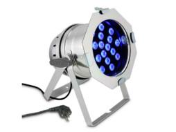 Cameo LED reflektor 18x3W, RGB, srebrni