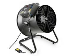 Cameo Ventilator, profesionalni, tih, veličina 31cm, 180°, DMX, daljinski RF, 56m3/min, podešavanje jačine i smjera vjetra