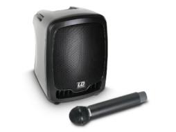 Zvučna kutija aktivna s bežićnim mikrofonom 25W ROADBOY 65 B6 na baterije – LD Systems