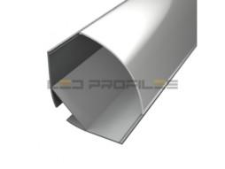 LED profil Corner 4, mliječni pokrov 2m